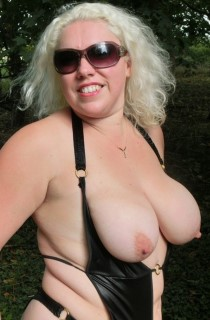 Barby - Barby is a blonde and busty sex queen with great tits and a lust for cock AND pussy or multiples of both