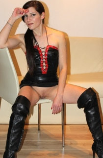 Charly. Charly is a 30 year old German student and pornstar with a slim delicate body that she just loves to show off